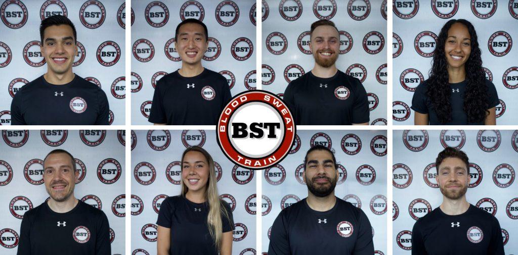 Blood Sweat Train Team